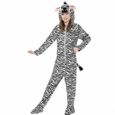Carnavalskleding zebra huispak baby online