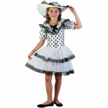 Carnavalskleding zuidelijke belle jurkje meisjes online
