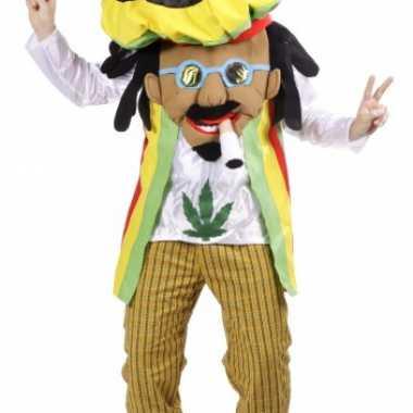 Cartoon rastafari carnavalskleding online
