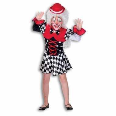 Clown carnavalskleding meiden online