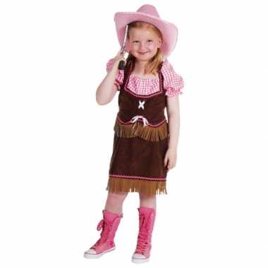 Cowboy carnavalskleding meiden online