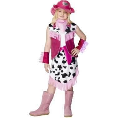 Cowboy carnavalskleding meisjes online