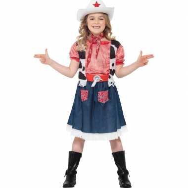 Cowgirl carnavalskleding meisjes online