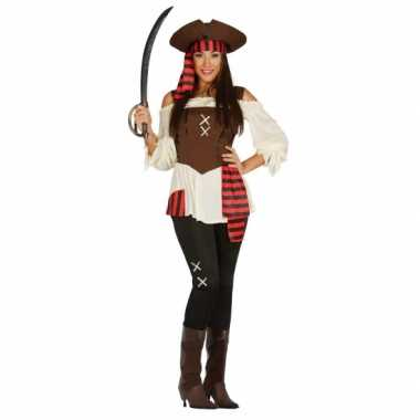 Dames piraten carnavalskleding grote maat online