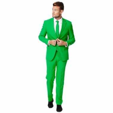 Fel groen st patricksday carnavalskleding heren online