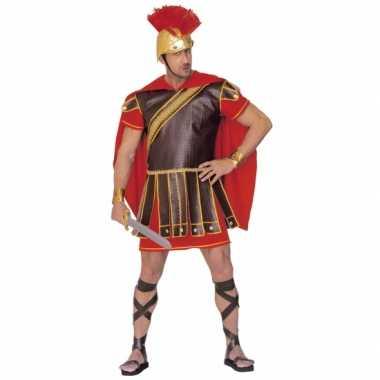 Gladiator carnavalskledings rood bruin heren online