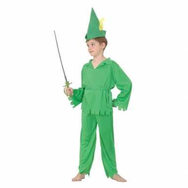 Groen bos jongen carnavalskleding baby online