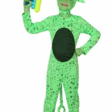 Groene alien carnavalskleding kind online