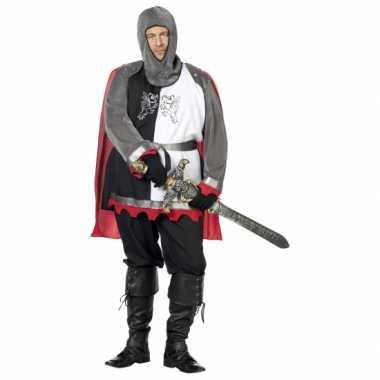 Grote maat middeleeuws ridder carnavalskleding online