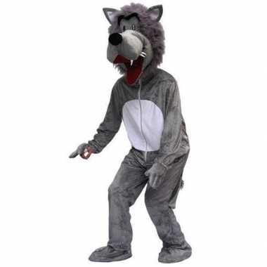 Heren carnavalskleding wolf online