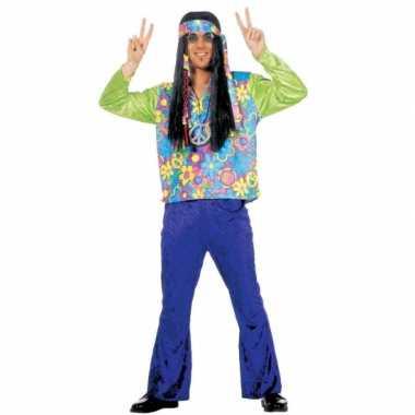 Hippie carnavalskleding heren online