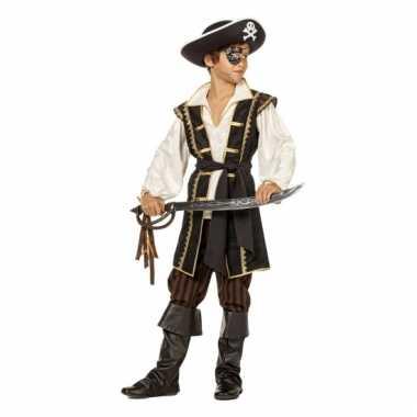 Jack piraat carnavalskleding bruin jongens online