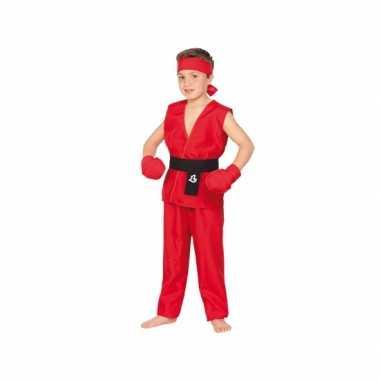 Kung fu strijder carnavalskledings baby online
