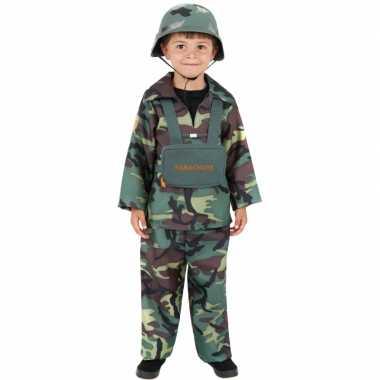 Leger carnavalskleding soldatenpak kind online
