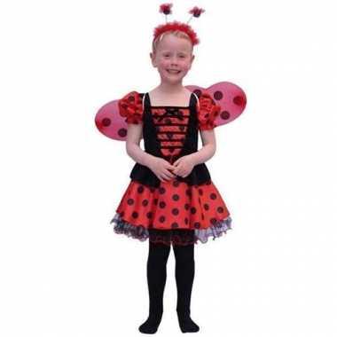 Lieveheersbeestje carnavalskledings meisjes online