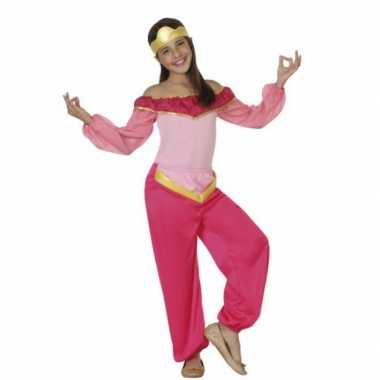 Luxe roze arabische prinses carnavalskleding online