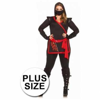 Ninja carnavalskleding grote maten online