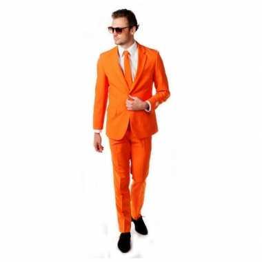 Oranje carnavalskledings luxe online