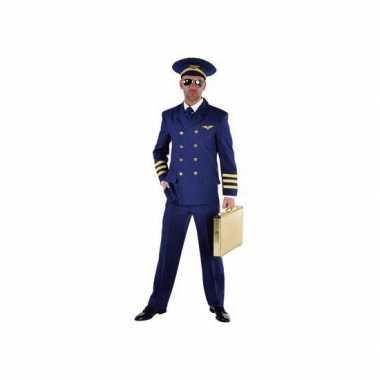 Piloot carnavalskleding heren blauw online