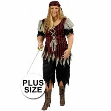Piraten carnavalskleding grote maat vrouwen online