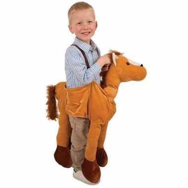Pluche paarden carnavalskleding kids online
