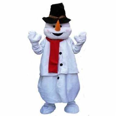 Pluche sneeuwpop carnavalskleding online
