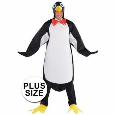 Plussize pinguin carnavalskleding heren online