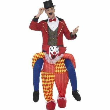 Ride on carnavalskleding clownpak volwassenen online