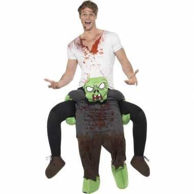 Ride on carnavalskleding zombie pak volwassenen online