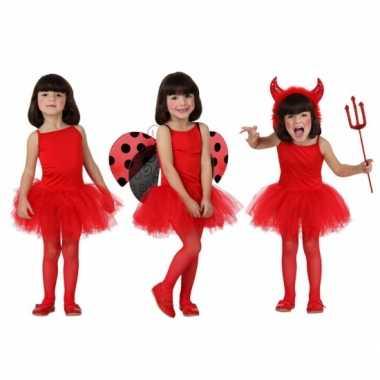 Rood ballet carnavalskleding meisjes online