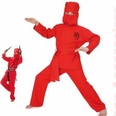 Rood ninja baby carnavalskleding online