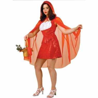 Roodkapje dames carnavalskleding cape online