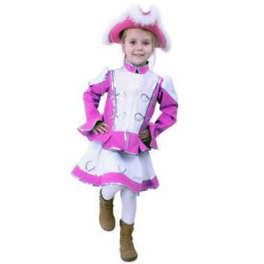 Roze majorette carnavalskleding meisjes online