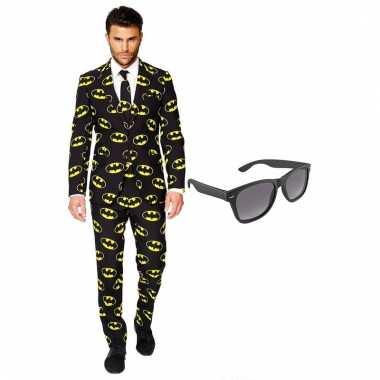 Scarnavalskleding batman heren pak (xxl) gratis zonnebril online