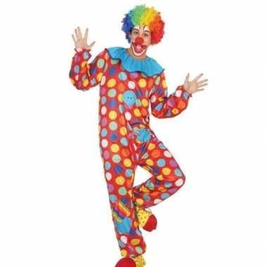 Scarnavalskleding clown heren online