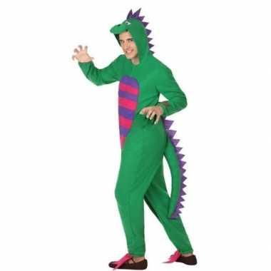 Scarnavalskleding groene draak volwassenen online