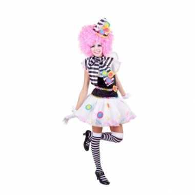 Sexy clown carnavalskleding dames online