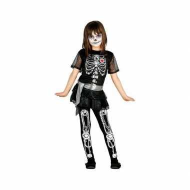 Skelet juwelen meisjes carnavalskleding online