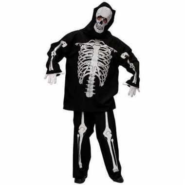 Skeletten carnavalskledings mannen online