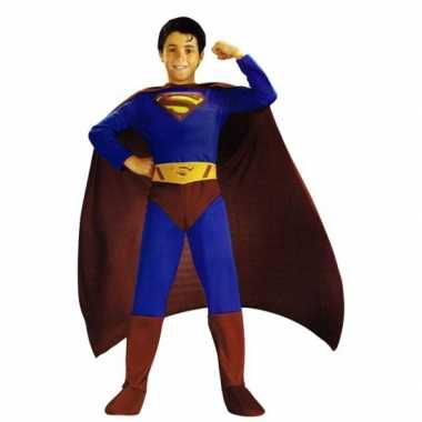 Superman carnavalskleding jongens online