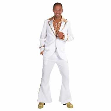 Witte disco carnavalskledings heren online