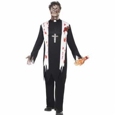 Zombiepak priester carnavalskleding online