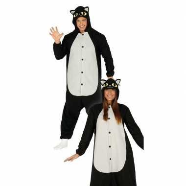 Zwarte kat/poes verkleed carnavalskleding dames online