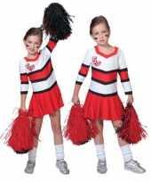 Carnavalskleding cheerleader jurkje plooirok meiden online