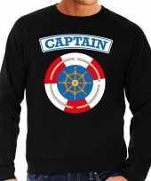 Carnavalskleding kapitein capt ain verkleed trui zwart heren online