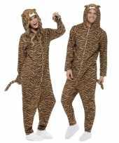 Carnavalskleding tijger huispak volwassenen online